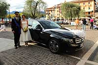 Car with driver Limousine for wedding